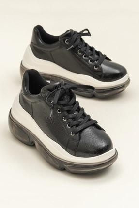 Elle HEGE Siyah Kadın Ayakkabı