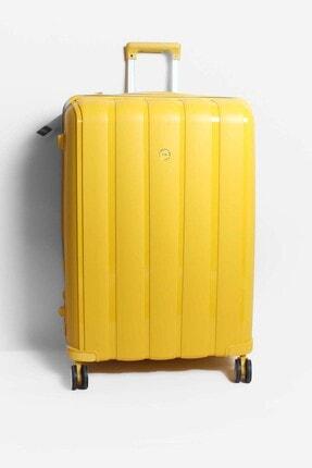 Fast Step Sarı Unisex Büyük Boy Bavul 897cabavulb
