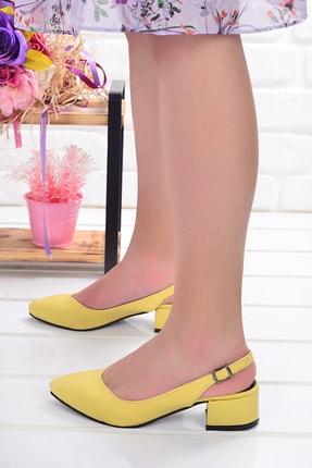 Ayakland 510-74 Cilt 3 Cm Topuk Bayan Sandalet Ayakkabı