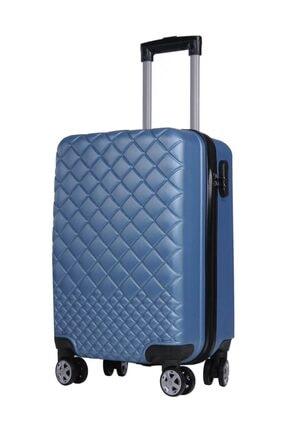 TREND Kabin Boy Polikarbon Valiz 8 Teker Mavi 1468