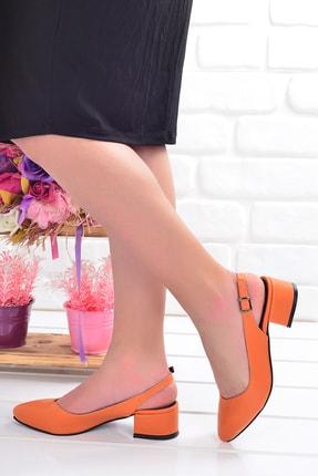 Ayakland Topuk Kadın Sandalet Ayakkabı 3 cm