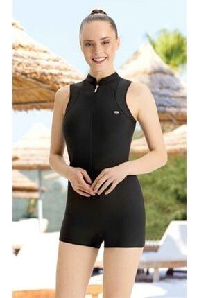 Adasea Yüzücü Mayo Siyah