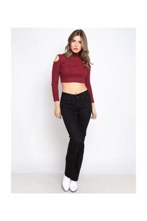 Twister Jeans Kadın Siyah Mına Jeans 9006-25