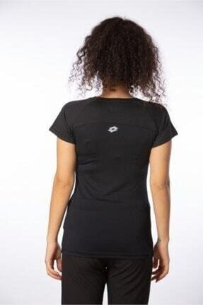 Lotto T-shirt Kadın Siyah Emılıa Basıc Tee Pl W R8577