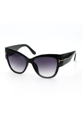 Silvio Monetti Kadın Siyah Uv400 Güneş Gözlüğü Sılvıo Monettı - 3sm1598r001