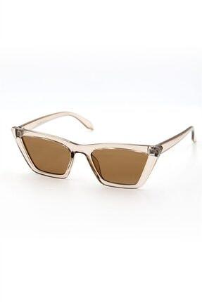 Silvio Monetti Kadın Bal Cat Eye Uv400 Güneş Gözlüğü - 3sm8020ar004