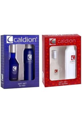 Caldion 50ml Edt 150 ml Deo 2 Adet Unisex Set