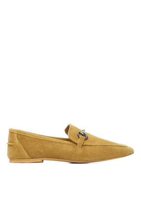 Kemal Tanca Kadın Derı Loafer Ayakkabı 825 102 Byn Ayk Y21