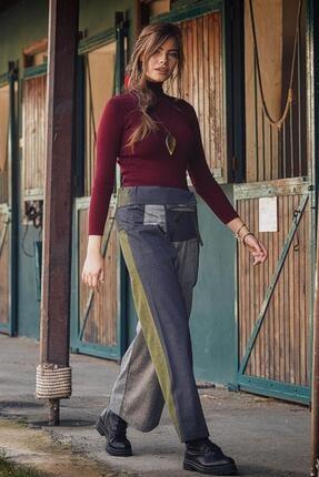 Los Banditos Kadın Rahat Kesim Geniş Paça Balıkçı Pantolon