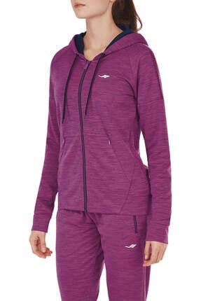 Lescon Kadın Sweatshirt - 17N-2110 - 17NTBS002110-MUR