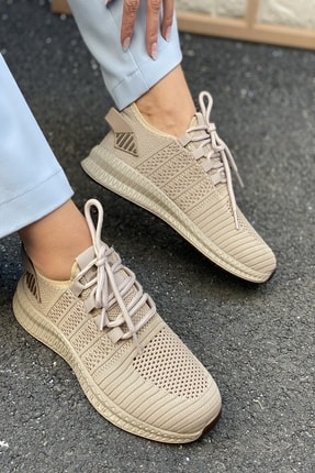 İnan Ayakkabı Unisex Triko Spor Ayakkabı Sneaker