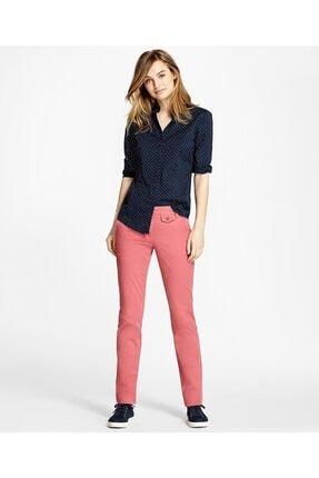 Brooks Brothers Kadın Lacivert Non-iron Puantiyeli Gömlek