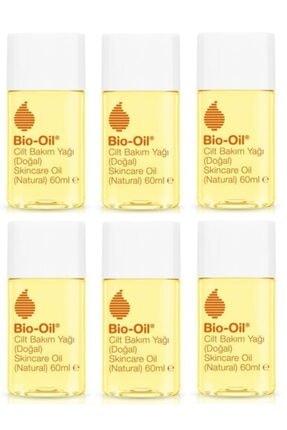 Bio Oil Cilt Lekeleri , Çatlak Ve Kırışıklık Karşıtı Cilt Bakım Yağı 60 Ml X6 Adet