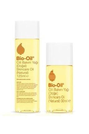Bio Oil 2'li Vegan Set - Kırışıklık Ve Çatlak Karşıtı Doğal Cilt Bakım Yağı 125 Ml + 60 Ml