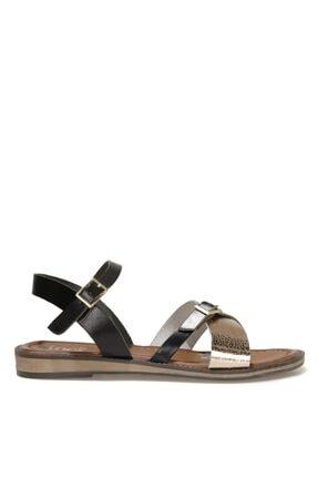 İnci Babı.z 1fx Siyah Kadın Sandalet