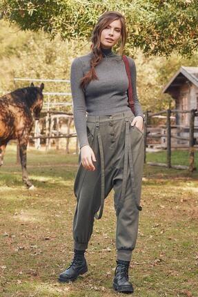 Los Banditos Elastik Bilekli Bağcıklı Kadın Şalvar Pantolon