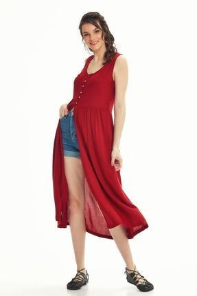 Los Banditos Kadın Kırmızı Otantik Tunik Elbise