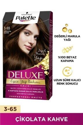 Palette Deluxe 3-65 Çikolata Kahve  X 2 Adet