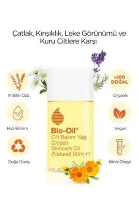 Bio Oil 14 Bitki Özü Içeren %100 Doğal Vegan Cilt Bakım Yağı 60 Ml