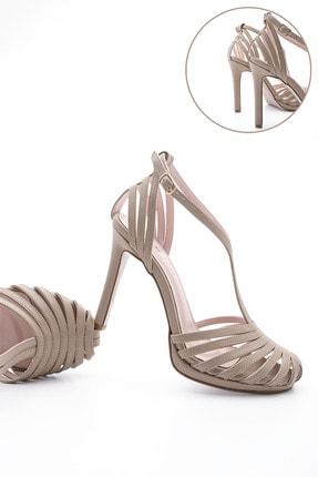 Marjin Kadın Platform Topuklu Ayakkabı Vilyanvizon