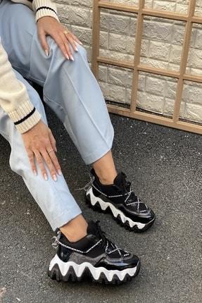 İnan Ayakkabı Kadın Siyah Sneaker