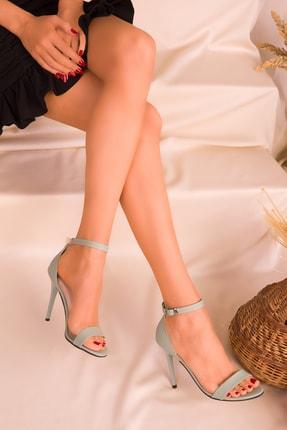 SOHO Yesil Kadın Klasik Topuklu Ayakkabı 14399