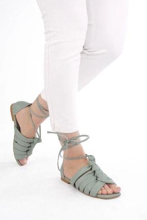 Marjin Kadın Yeşil İpli Sandalet