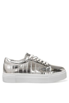 Nine West Andy 1fx Gümüş Kadın Havuz Taban Sneaker
