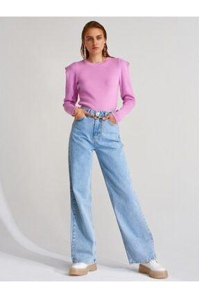 Dilvin Kadın Geniş Paça Uzun Pantolon 4175