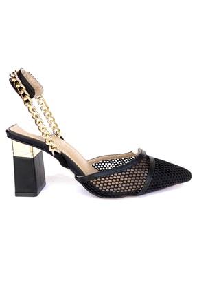 Kriste Bell Kadın Siyah Klasik Topuklu Ayakkabı