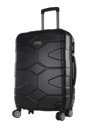 TREND Kabin Boy Polikarbon Valiz 4x2 Teker Siyah 1470
