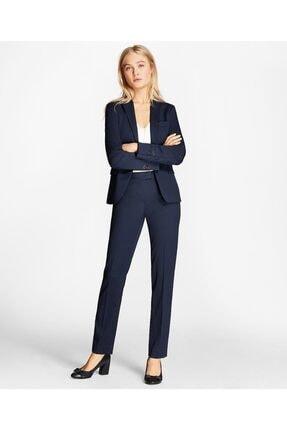 Brooks Brothers Kadın Lacivert Boru Paça Pantolon
