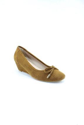 İnci Hakiki Deri Taba Kadın Ayakkabı 38 Numara