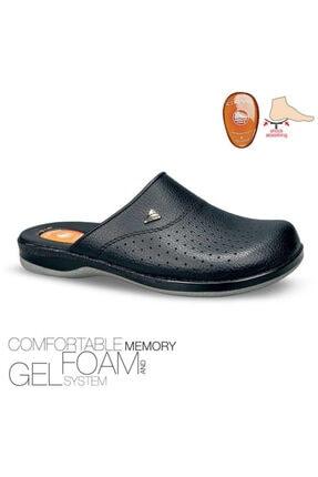 Ceyo 9846 Flex-1 Siyah Ortopedi Microfiber Technology Sabo Unısex Comfortable Memory Foam Gel System