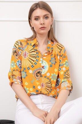 D-Paris Desenli Gömlek