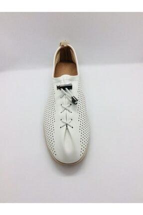 Punto Kadın Beyaz Cilt Casual Ayakkabı