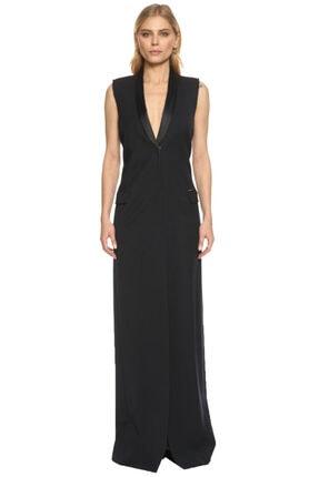 Lanvin Kadın Lacivert Gece Elbisesi
