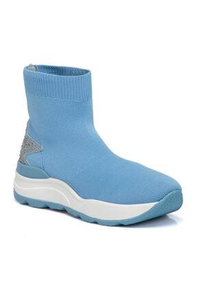 Tergan Mavi Kadın Ayakkabı 65704q2y