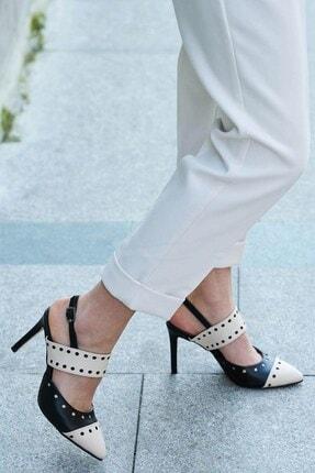 Mio Gusto Kadın Siyah Topuklu Ayakkabı