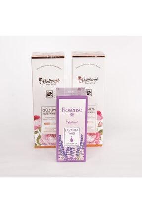 Rosense Gülbirlik Doğal Gülsuyu 250 ml 2 Adet Alana Lavanta Yağı 30 ml Hediye