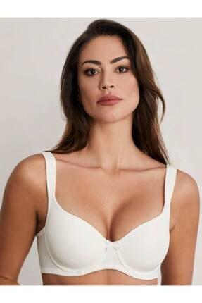 Eros Kadın Beyaz Toparlayıcı Boş Kap Sütyen 100