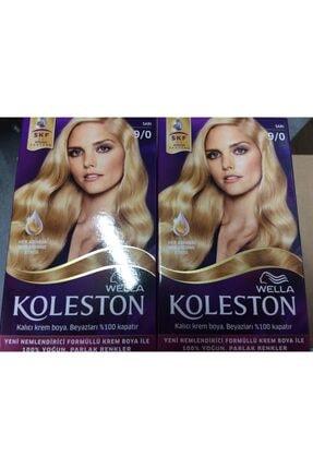 Koleston Sac Boyası 9.0 Sarı 2li Paket