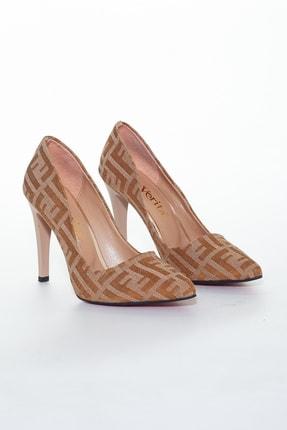 Ferre Kadın Kahverengi Topuklu Ayakkabı