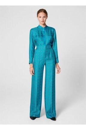 Escada Kadın Mavi Pantolon