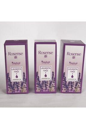 Rosense Lavanta Yağı 30ml 3 Adet