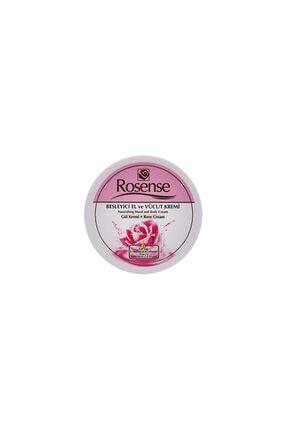 Rosense Besleyici El Ve Vücut Gül Kremi - 250 ml