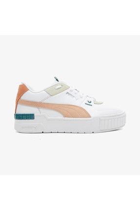 Puma Kadın Beyaz Cali Sport Mix Spor Ayakkabı