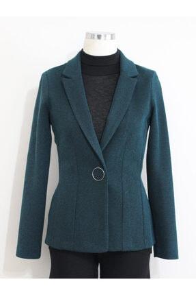 Vekem Kadın Mavi Blazer Ceket