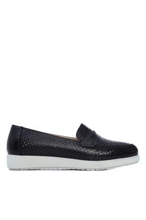 Kemal Tanca Kadın Derı Comfort Ayakkabı 824 3800 Byn Ayk Y21