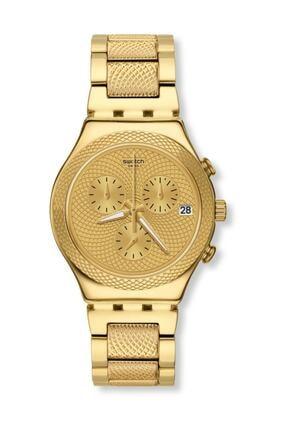 Swatch  Unisex Gold Kol Saati